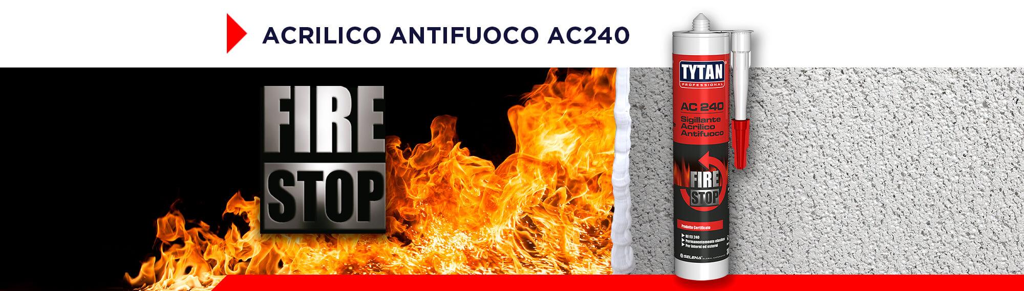 SIGILLANTE ACRILICO ANTIFUOCO AC 240 Desktop